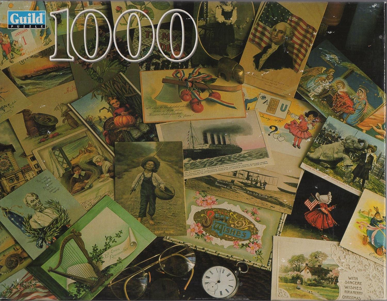 Guild 1000 Piece Puzzle MEMORABILIA by Guild