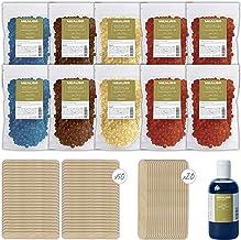 Kit Depilacion Calentador de Cera Fundidor Parafina Depiladora Easy Wax 1 Kilo Easy Wax + espatulas de madera + aceite esencial Waxing Mealiss