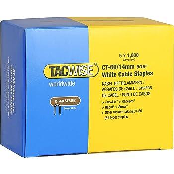 14mm 1-CT109T Stanley Grapas para Cable CT100 14 mm-1000 Set de 1000 Piezas