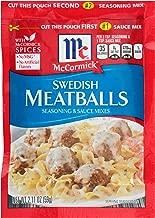 Best mccormick swedish meatball sauce Reviews