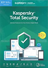 KASPERSKY TOTAL SECURITY 2019 - 8 USERS [(3 Plus 1) x 2 - DOUBLE THE DEVICES] - AUTHENTIC MIDDLE EAST VERSION