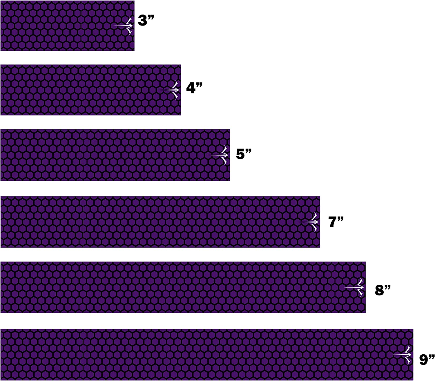 White Water Archery Laminated Purple Wraps OFFicial shop 15pc Honeycomb Selling and selling Arrow