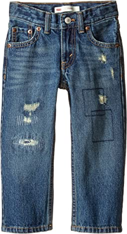 Levi's® Kids - Regular Fit Rip & Repair Jeans (Toddler)