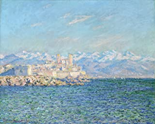 Odsan Gallery Antibes, Afternoon Effect - By Claude Oscar Monet - Canvas Prints 36