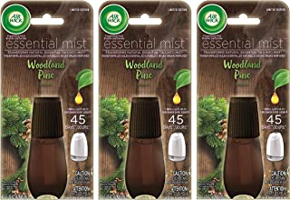Air Wick Essential Mist Refill - Limited Edition Holiday Collection - Woodland Pine - Net Wt. 0.67 FL OZ (20 mL) Per Refil...