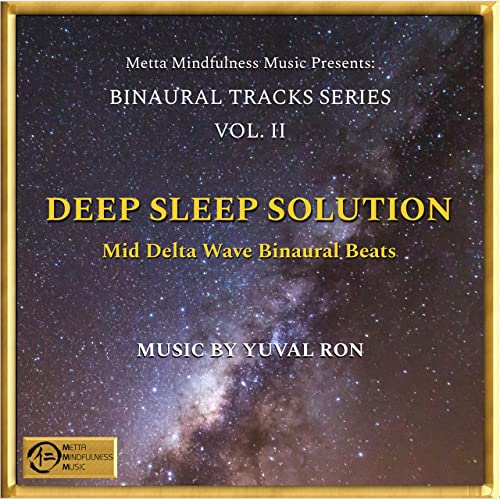 Deep Sleep Solution: Mid Delta Wave Binaural Beats
