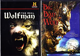 Big Bad Wolf the Werewolf Movie , the History Channel the Real Wolfman the History of Werewolves : Howl At the Moon 2 Pack
