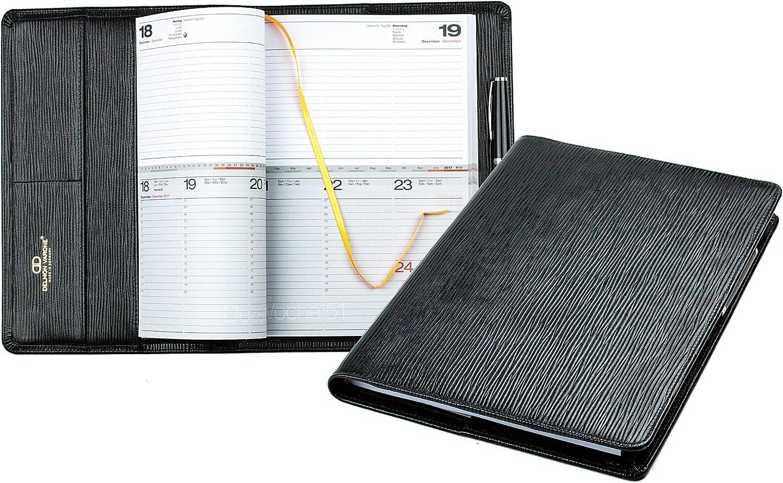 Design Kalenderbuch A4   für das das das Jahr 2019 PREMIUM LEDER   MANHATTAN schwarz mit Paglia Narbung B07DNGGZBS   Günstigstes  c4e929