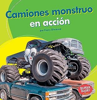 Camiones monstruo en acción (Monster Trucks on the Go) (Bumba Books ® en español ― Máquinas en acción (Machines That Go)) (Spanish Edition)