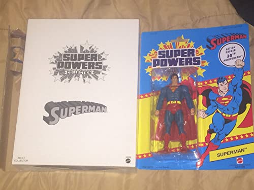 DCユニバース スーパーパワーズコレクション 6インチフィギュア スーパーマン   DC SUPER POWERS COLLECTION SUPERMAN 【並行輸入品】