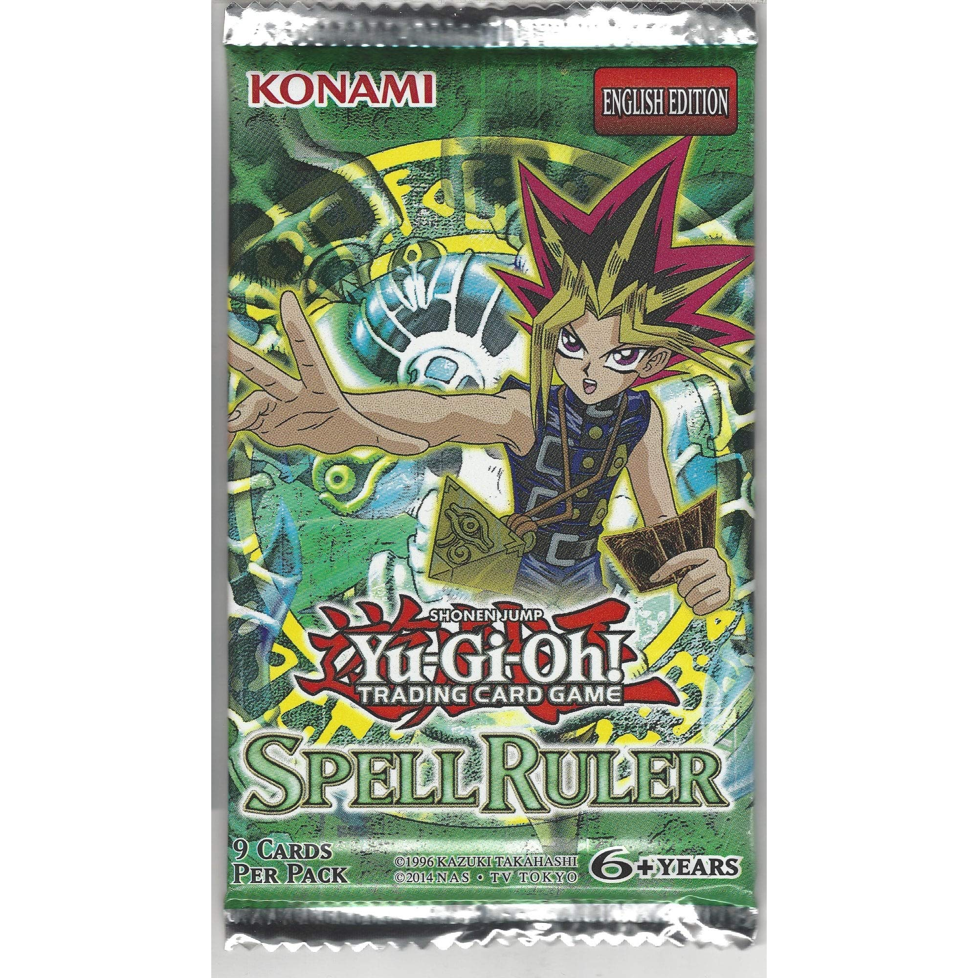 YuGiOh Magic Ruler Spell Ruler Booster Pack [Toy]: Amazon.es: Juguetes y juegos