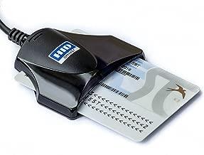 HID Omnikey USB Smart Card Reader ID Medical Company National Identity eID 1021 (Black)