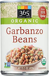 365 Everyday Value, Organic Garbanzo Beans, 15.5 oz