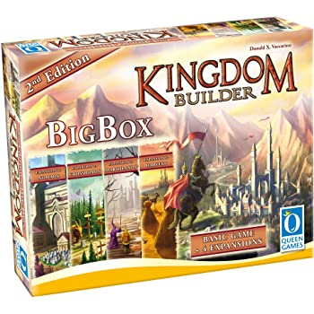 Kingdom Builder Expansion Marshlands Board Game Queen Games Direct Import 10072 2-4 Player