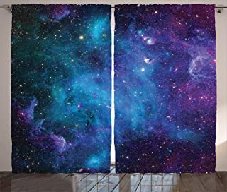 Best galaxy gift curtains Reviews
