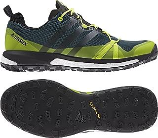 adidas Men's Terrex Agravic Mystery Green/Black/Semi Solar Yellow Athletic Shoe