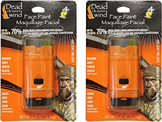 Dead Down Wind 4-Color Face Paint   Pack of 2