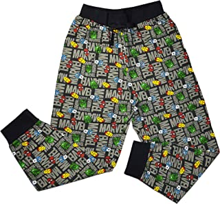 Mens Official Marvel Loungepants | Mens Loungewear All Over Print Pyjama Bottoms, Size Small - X-Large