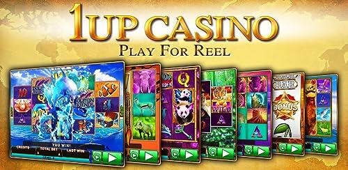 『1Up Casino Slot Machines』のトップ画像