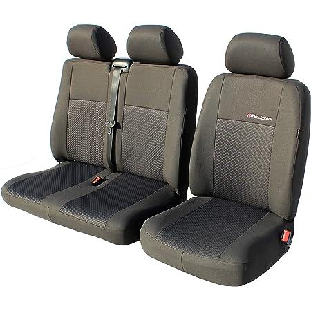 Exclusive Autositzbezüge Sitzbezüge Universal Fahrersitz 2er Beifahrersitzbank Schonbezüge Diactric Auto
