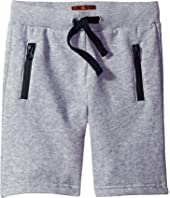 7 For All Mankind Kids - Jogg Shorts (Big Kids)