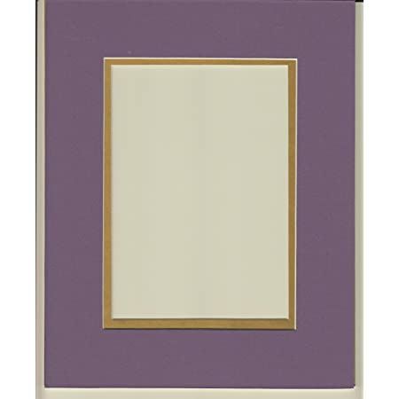 Bevel Cut for 11x14 Picture or Photo 16x20 Cream /& Gold Double Picture Mat