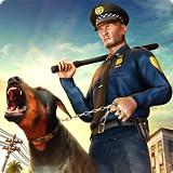 Polizei Hund Jagd Abenteuer Simulator 3D: Vegas City Gangster Verbrechen im Gefängnis Flucht Überleben Abenteuer Mission Spiele für Kinder 2018 frei