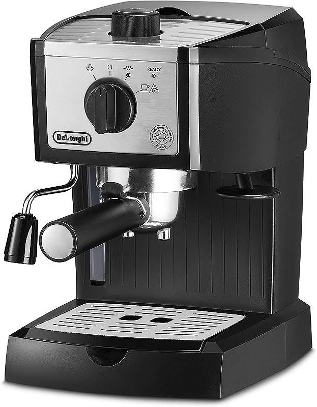 DeLonghi EC155M Manual Espresso Machine Cappuccino Maker