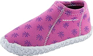 NeoSport Kid's Water & Deck Shoes, Brite Palm, Size 1