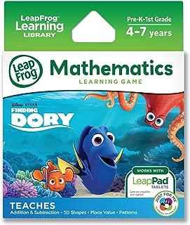 LeapFrog Disney/Pixar Finding Dory Learning Game (for LeapPad Platinum, LeapPad Ultra, LeapPad2, LeapPad3)