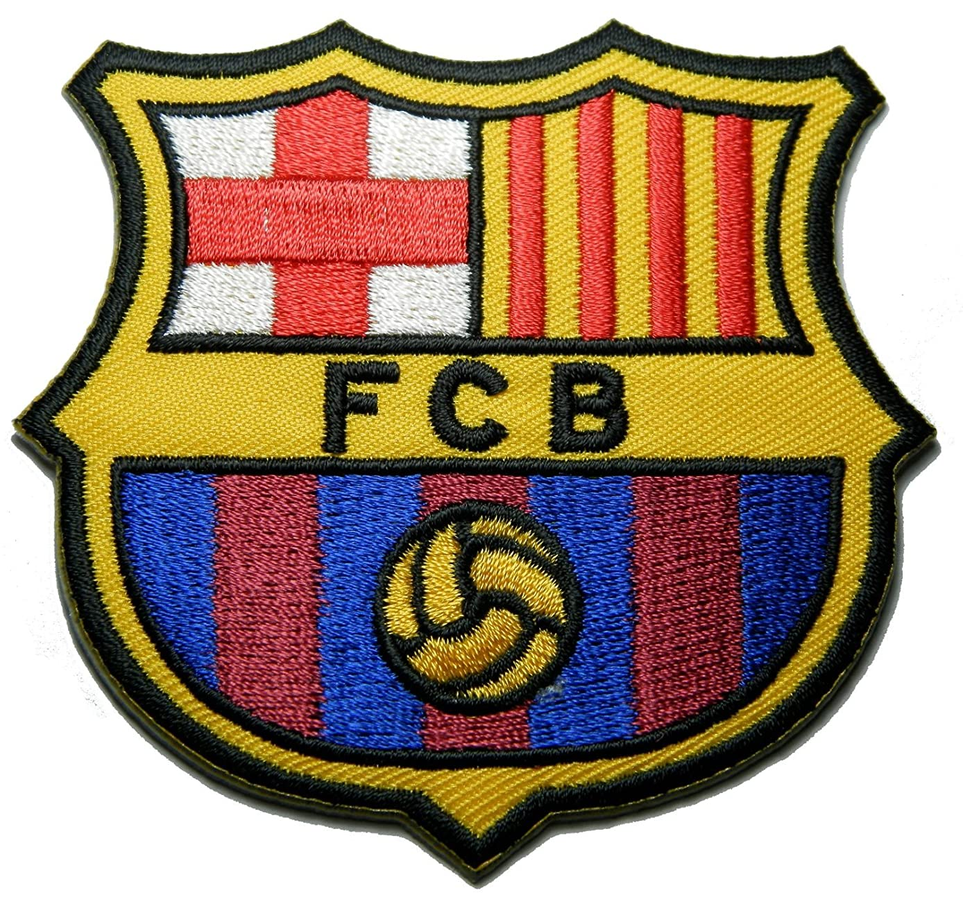FCB Barcelona Espagne Fc Patch Patch Sew Iron on Logo Embroidered Badge Sign Emblem Costume BY Dreamhigh_skyland