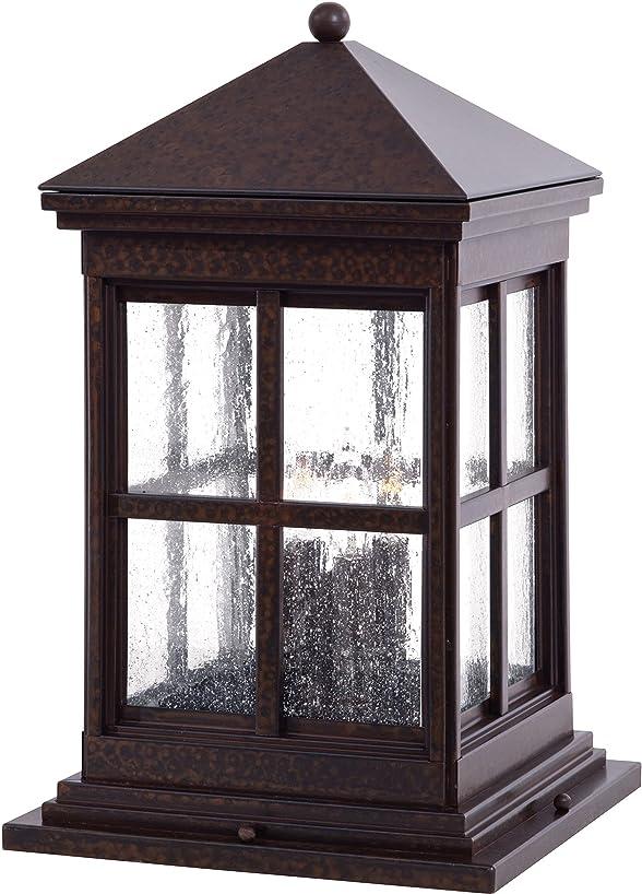 Minka Lavery Outdoor Post Lights 8567-51 Berkeley Exterior Lighting Fixture, 80 Watts, Brass
