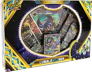 Pokemon TCG: Lunala GX Box + A Foil Promo Card + 4 Booster Packs + A Oversize Foil Card