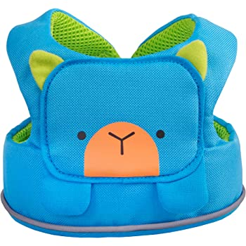 Trunki ToddlePak-Fuss Free Toddler Walking Reins Kids Safety Harness-Bert Blue