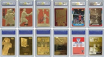 The 6 Greatest MICHAEL JORDAN Fleer Cards Ever Assembled all Graded Gem-Mint 10