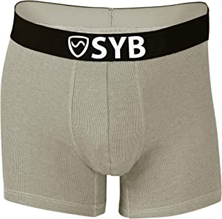 Boxer Briefs, Anti-Radiation EMF Protection, 42% Silver, Works on 5G