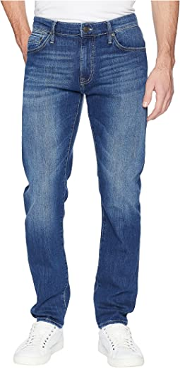 Mavi Jeans Marcus Regular Rise Slim Straight in Mid Brushed Summer