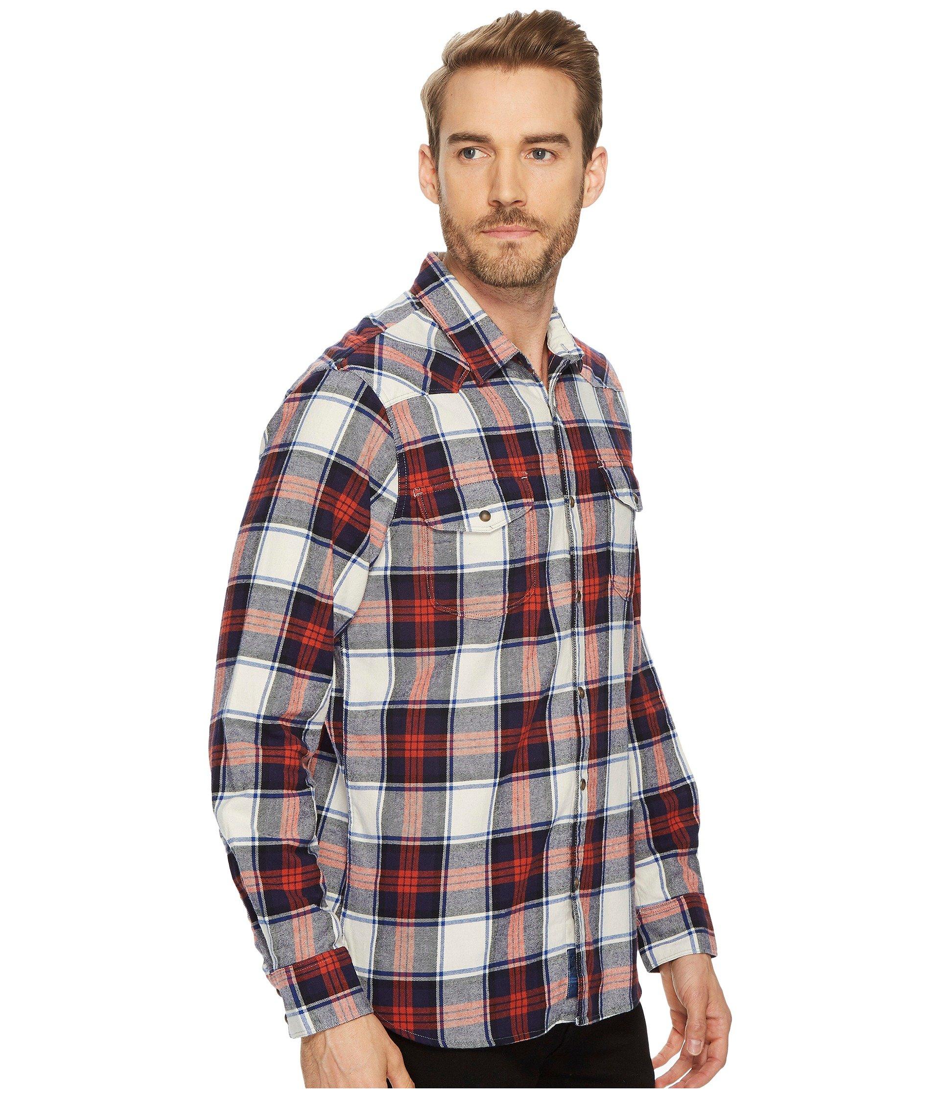 Lucky brand mason workwear shirt at for Mason s men s shirts