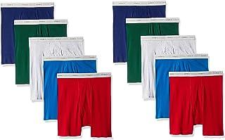 Hanes Men's Cool Dri Tagless Boxer Briefs with Comfort Flex Waistband, Multipack