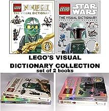LEGO: The Visual Dictionary (2 Book Set: Ninjago Masters of Spinjitzu & Star Wars)