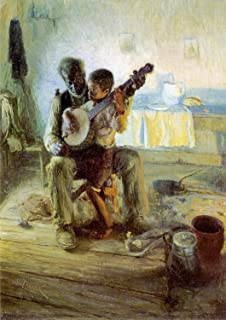 The Banjo Lesson - By Henry Ossawa Tanner - Canvas Prints 20