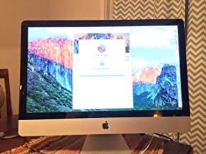Apple IMAC MB953LL/A All in One 27-inch Desktop (Intel Core i5, 8 GB 1066 MHz DDR3 SDRAM, 1TB Serial ATA Drive) (Renewed)