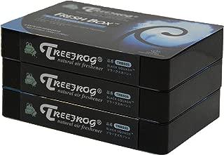 Treefrog Xtreme Fresh Air Freshener Black Squash Scent 3 Packs