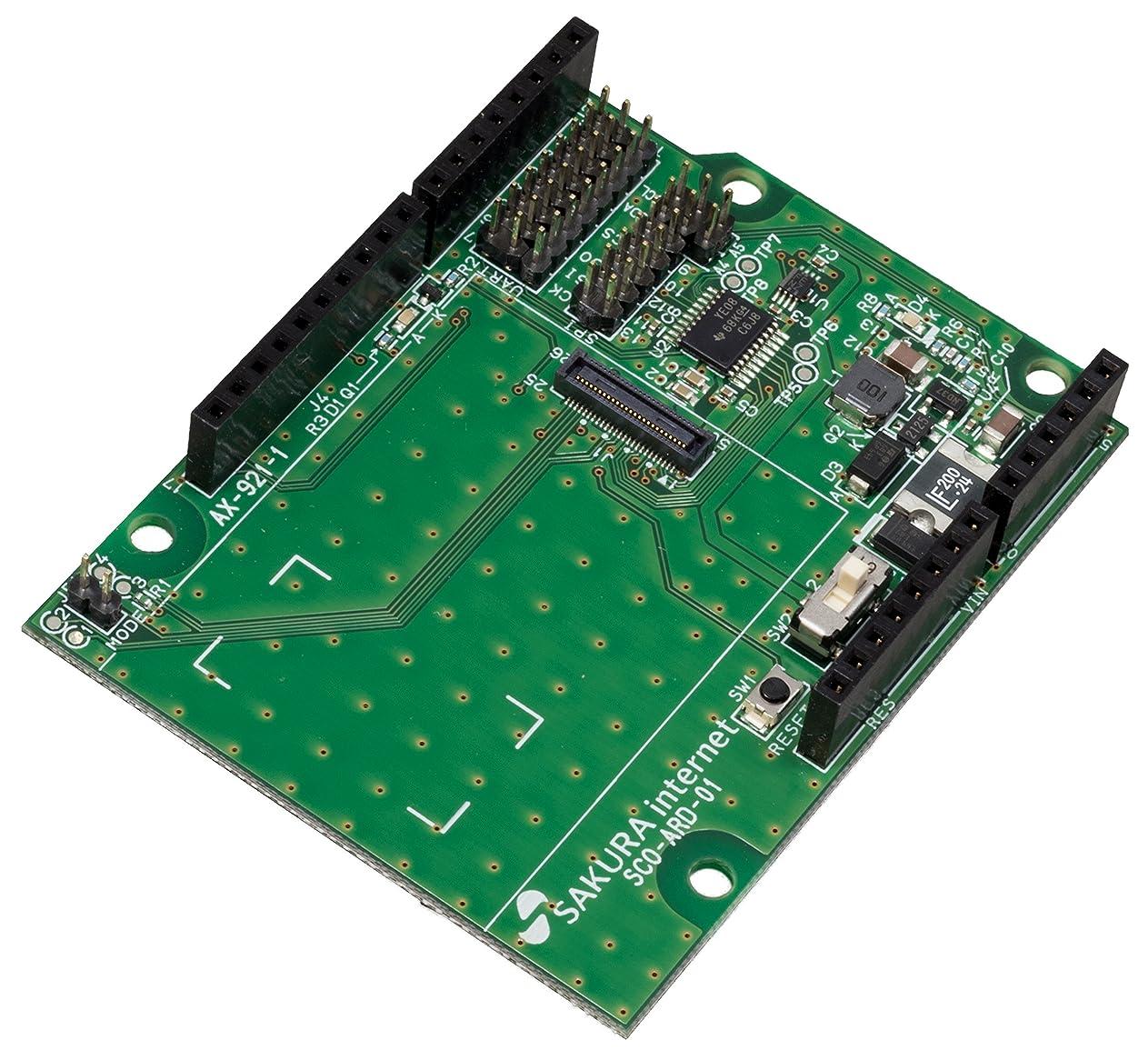 利用可能バイオリニストパケットsakura.io シールド for Arduino