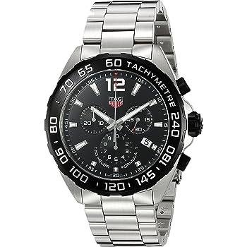 (タグ・ホイヤー)Tag Heuer メンズおしゃれ腕時計 'Formula 1' スイスクォーツ ステンレススチール 色:シルバー調(モデル:CAZ1010.BA0842) [並行輸入品]
