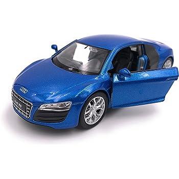 39 Bleu 34-1 Welly R8 Voiture de Sport mod/èle de Voiture Auto Licence Produit 1