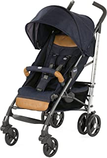 Chicco CH79599-09 Liteway 3 Top with Bumper Bar Stroller, Denim