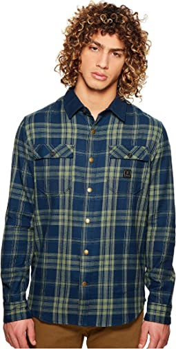 Nordsman Long Sleeve Woven Flannel