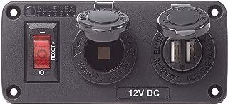 Blue Sea Systems BelowDeck Panels, Dual USB Chargers, 12V Sockets and Mini OLED Monitors