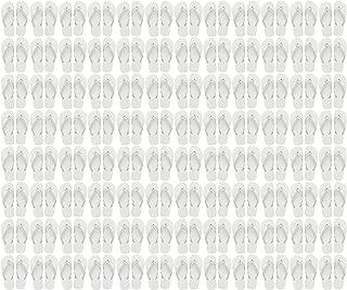 wholesale white flip flops in bulk
